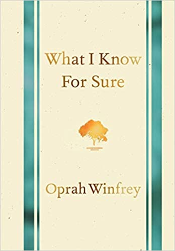 oprah WHAT I READ?